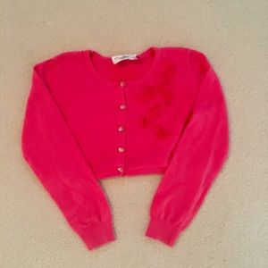 Girls size L sweater shrug